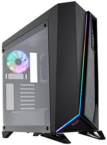 Corsair Carbide SPEC-OMEGA RGB Tempered Glass Mid-Tower ATX Gaming Case - Black