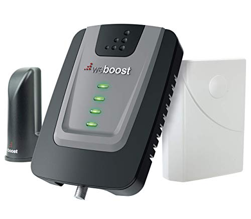weBoost Home Room (472120R) Factory Refurbished Cell Phone Signal Booster Kit | Up to 1,500 sq ft | All US Carriers - Verizon, AT&T, T-Mobile, Sprint & More | 1 Year Manufacturer Warranty