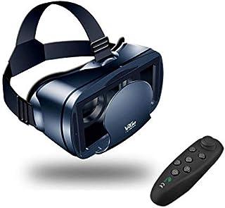 VR ゴーグル Bluetoothリモコン付属 3D VR メガネ ヘッドマウント 3D メガネ スマトゴーグル 仮想現実 超3D映像効果 (iPhone Samsung Galaxy Note HTC HUAWEIなど5~7.0インチまでのス...