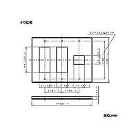 【受注生産品】Panasonic グレーシアシリーズ スクエアコンセント用プレート7個用 ダークブラウン WTV6207A1