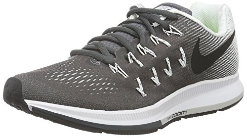 Nike Damen Air Zoom Pegasus 33 Laufschuhe, Grau (Dark Grey/Black/White), 36.5 EU