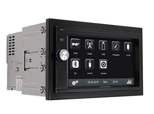 Blaupunkt Oslo 370 - Doppel-DIN MP3-Autoradio mit Touchscreen/DAB/Bluetooth/USB/SD/iPod