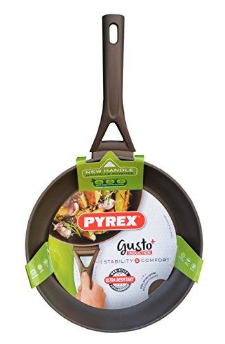 Pyrex Gusto Plus Pfanne Kuchenpfanne Induktion Antihaft Non-Stick Verschiedene Größe NEU&OVP (24 cm)