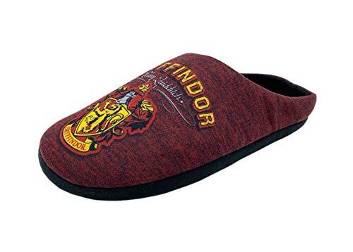 Pantuflas originales de Harry Potter Baranec Gryffindor para hombre, color Rojo, talla 44 EU