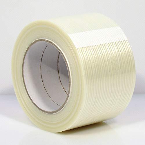 Filamentband Filament Klebeband Packband 50m X 75mm fadenverstärkt