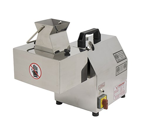 """American Eagle Food Machinery AE-MC12N-1/4-K 1 hp Electric Meat Cutter Kit 1/4"""" Output Stainless Steel"""