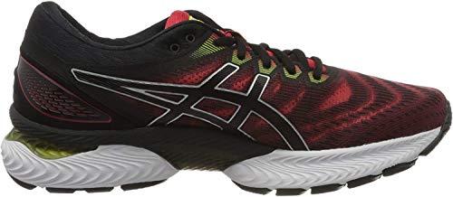ASICS Herren Gel-Nimbus 22 Running Shoe, Klassisches Rot/Schwarz, 45 EU