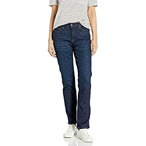 Women's Slim Straight-fit Jean Indigo Blue Denim