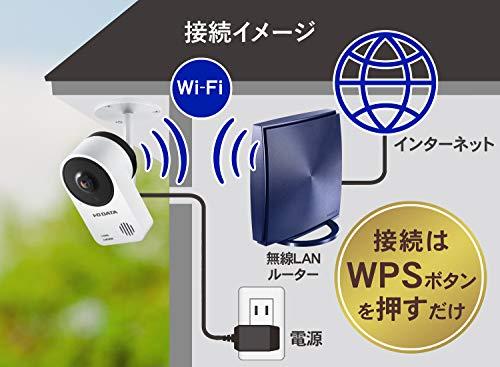 I-ODATAネットワークカメラQwatch屋外用見守りWi-Fi防塵防水IP65準拠土日サポートTS-NA220W