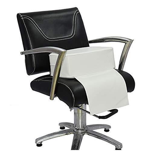 ZOYOL Cuscino per saloni di bellezza, per il taglio dei capelli, per la sedia per parrucchieri, salone di bellezza, attrezzatura termale, colore bianco