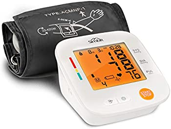 Simbr Automatic Upper Arm Blood Pressure Monitor with LCD Display