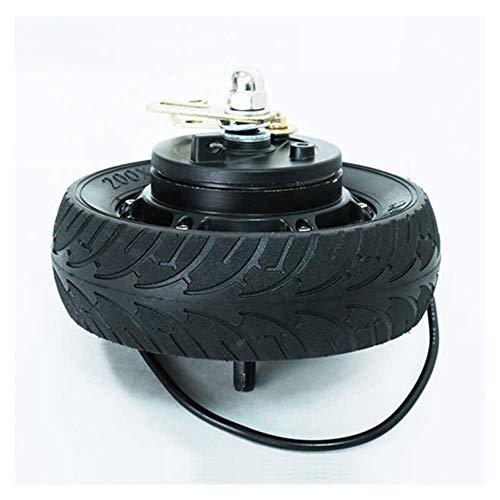 Neumáticos, Scooter eléctrico, 8 pulgadas 36v 500w Motor silencioso sin escobillas de alta potencia sin escobillas, Neumáticos a prueba de explosiones 200x60, Adecuado para reemplazo de unidad de scoo