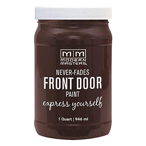 Modern Masters 275263 Front Door Paint, 1 Quart, Satin Grounded