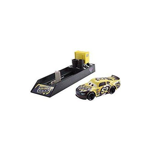 Cars 3 - Lanzador Coche Brian Spark, Coche de Juguete (Mattel FLH78)