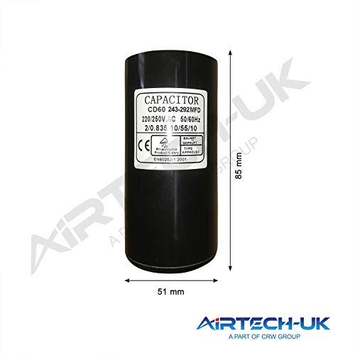 Elektrischer Motor-Startkondensator 50 uf bis 400 uf 220-250 V Startkondensatoren, Start Capacitor 243-292MFD
