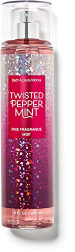 Bath and Body Works Fine Fragrance Mist - 8 fl oz Full Size - Twisted Peppermint