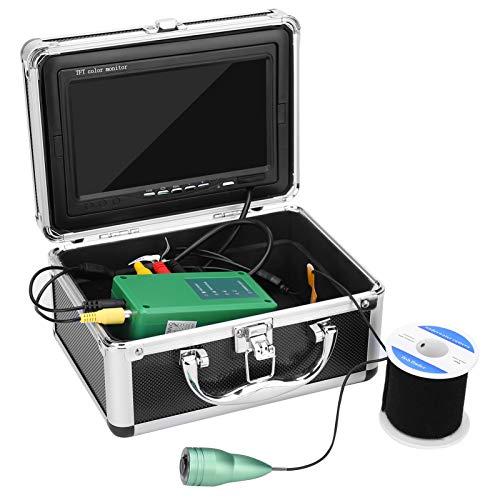 Pwshymi Videocamera Subacquea Fish Finder 1000TVL HD Lega di Alluminio Impermeabile per Immersioni per Il monitoraggio(European regulations)