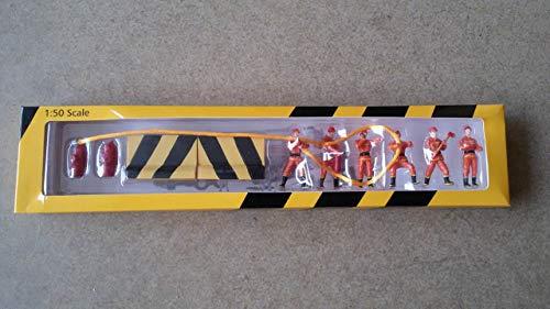 XCMG Fireman Figure miniture Set 1/50 Finished 6 Figures Model Set