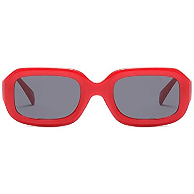 Modesoda Vintage Sunglasses for Women Men, Squa...