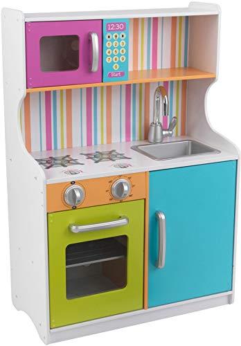 KidKraft- Cocina de juguete de madera en colores brillantes , Color Multicolor...