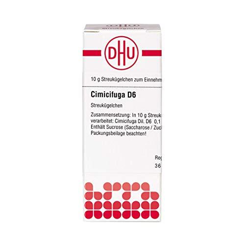 DHU Cimicifuga D6 Streukügelchen, 10 g Globuli
