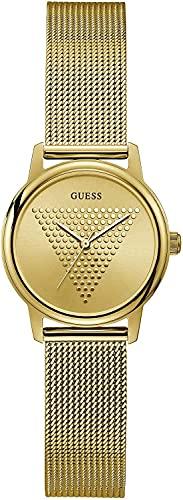 Guess Reloj Término análogo para Mujeres de Cuarzo con Correa en Acero Inoxidable GW0106L2