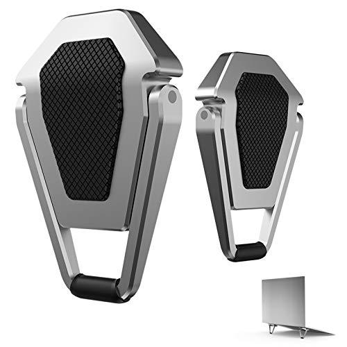 Soporte Portátil, Aluminio Ventilado Soporte Ordenador Portátil Mesa Plegable, Compatible con MacBook, Air, Pro y Otras Computadoras Portátiles de 6-20.1 Pulgadas