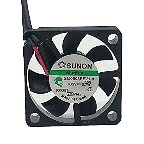 GM0503PEV1-8 DC 5V 0.7W 3006 30x30x6mm 3cm Thickness Slim Brushless Cooling Fan 2Wire