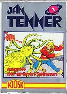Jan Tenner Hörspiel MC Kassette 001 1 Angriff der grünen Spinnen [Musikkassette] [Musikkassette]