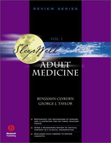Sleepwell: Adult Medicine (Sleepwell Review Series)
