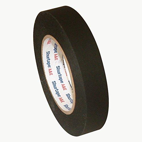 Shurtape CP-743 Matte Black Paper Tape (aka Permacel P-743): 1 in. x 60 yds. (Black) by Shurtape