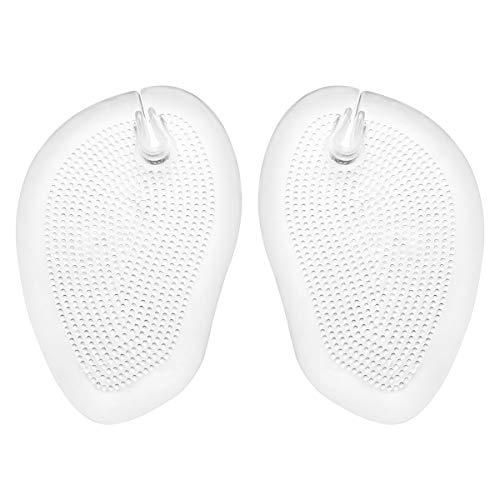 Healifty 2 Paar Silikon Anti-Rutsch Einlegesohle Silikon Gel Pads Sandale Flip Flolop Vorfuß Kissen Pad Zehentrenner Schutz Stringeinlagen Einlage