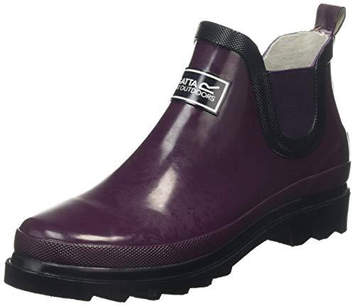 Regatta Damen Lady Harper, Womens Safety Wellingtons Gummistiefel, Violett (Prune/Iron V2w), 36 EU
