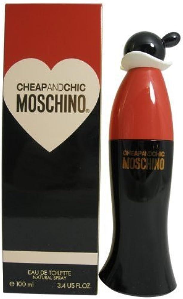 Moschino eau de toilette da donna spray, da 100 m, cheap and chic 25868
