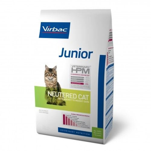 Hpm Virbac Feline Junior Neutered 1,5Kg 1600 g