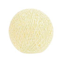 Cabilock Rotin Boule Abat- Jour en Osier Globe Lustre Abat- Jour Tissé Plafond Abat- Jour Lampadaire Globe pour Plafond…