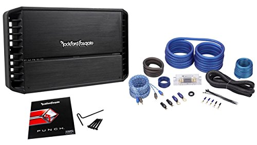 Rockford Fosgate Punch P1000X1BD 1000W RMS Mono Car Class-BD Amplifier+Amp Kit