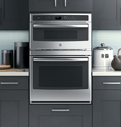 """GE Profile PT7800SHSS 30"""" Built-In Convection Combination Microwave Wall Oven in Stainless Steel"""