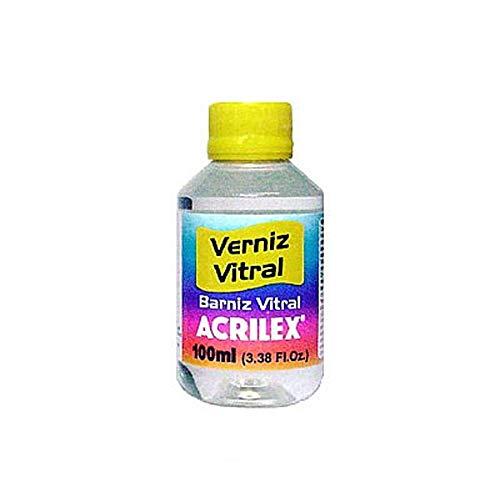 BARNIZ VITRAL ACRILEX INCOLORO (100ML)