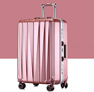 LAGNZ014H Travel Bags 24 inch Suitcase Female Pull-rod Case Universal Wheel PC Travel Suitcase