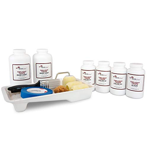 Brick-Anew All-In-One Brick Fireplace Paint Kit (Misty Harbor)