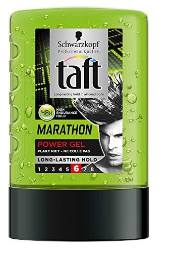 Schwarzkopf Taffetas – Marathon – Coiffure Power Gel – Lot de 3 (3 x 300 ml)