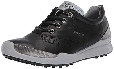 ECCO Women's Biom Hybrid Hydromax Golf Shoe, Black, 9-9.5