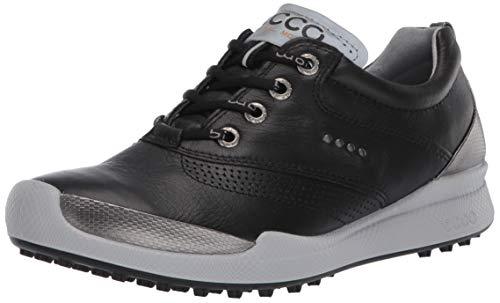 ECCO Women's Biom Hybrid Hydromax Golf Shoe, Black, 7-7. 5