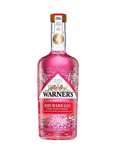 2. Ginebra rosa Warner's Rhubarb Pink Gin