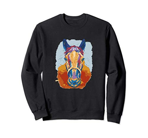 Horse Watercolor Sweatshirt