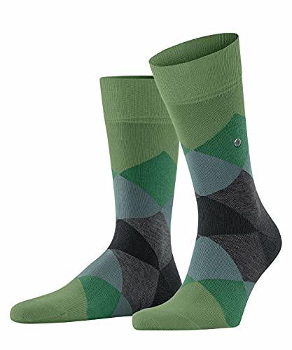 Burlington Herren Clyde M SO Socken, Grün (Fir Green 7656), 40-46 (UK 6.5-11 Ι US 7.5-12)