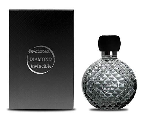 Aristea - Parfum Herren Diamond Invincible, Eau de Parfum, holzig-aquatisches Parfüm für Männer mit unvergesslichem Duft, Perfume for Men (1 x 50 ml)