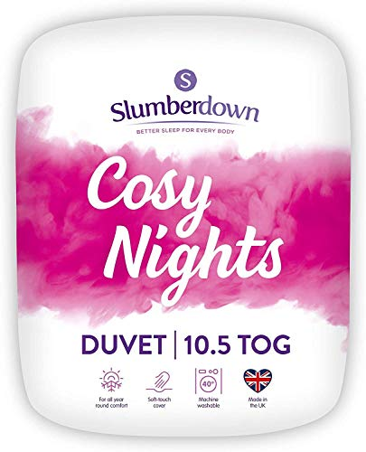 Slumberdown Cosy Nights King Size Duvet 10.5 Tog All Seasons Duvet King Size