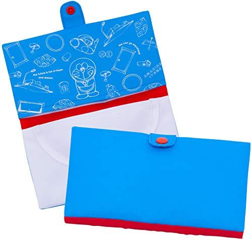 アストロ マスクケース ドラえもん 携帯用 ポケット付 二つ折り コンパクト 900-28